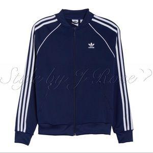 adidas Jackets & Coats - NWT's Adidas SST Navy Track Jacket